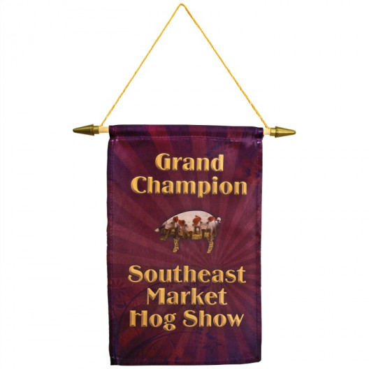Banner w/ Hanging Cord