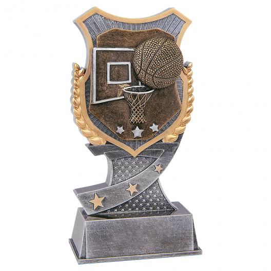 Shield Basketball Resin