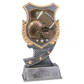 Shield Football Resin