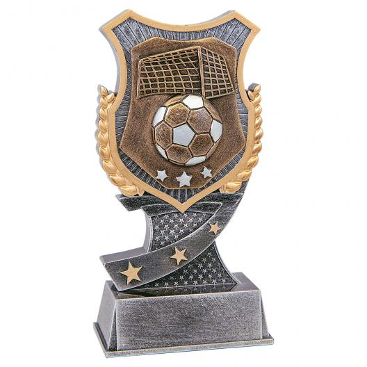 Shield Soccer Resin