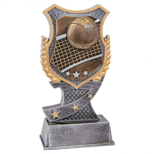 Shield Volleyball Resin
