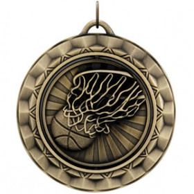 Spinner Medal - Basketball