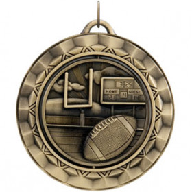 Spinner Medal - Football