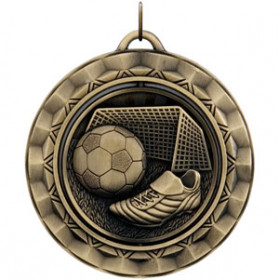 Spinner Medal - Soccer