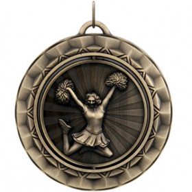 Spinner Medal - Cheer