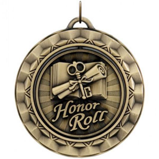Spinner Medal - Honor Roll