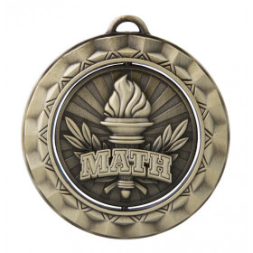 Spinner Medal - Math