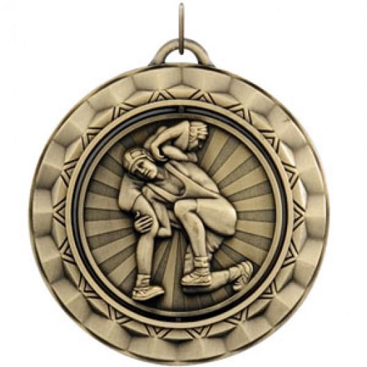 Spinner Medal - Wrestling
