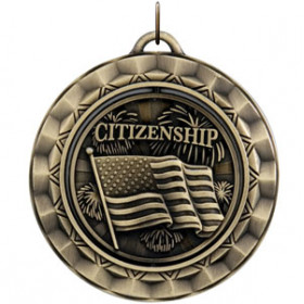 Spinner Medal - Citizenship