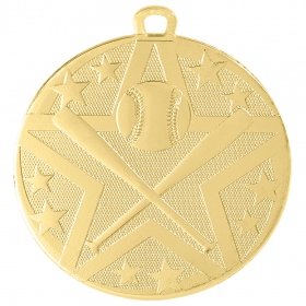Superstar Medal - Baseball