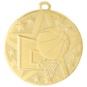 Superstar Medal - Basketball