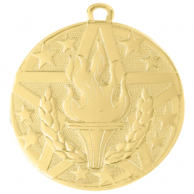 Superstar Medal - Victory Torch
