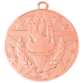 Superstar Medal - Victory Torch