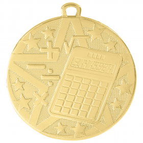 Superstar Medal - Math