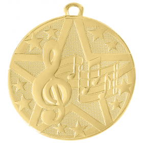 Superstar Medal - Music
