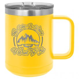 Insulated Tumbler Mug - 15 oz.