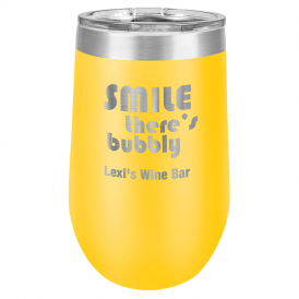 Insulated Tumbler - 16oz. Stemless Wine