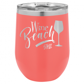 Insulated Tumbler - 12 oz. Stemless Wine