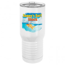20 oz Sublimatable Polar Camel Tumbler