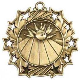 Ten Star Medal - Bowling
