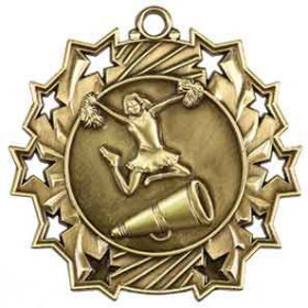 Ten Star Medal - Cheer
