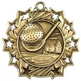 Ten Star Medal - Golf