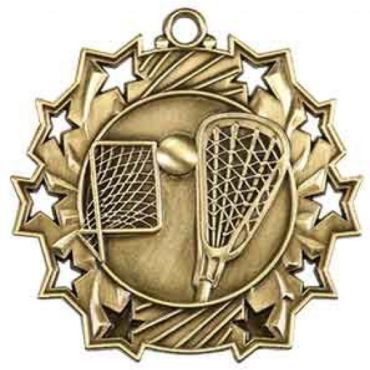 Ten Star Medal - Lacrosse