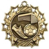 Ten Star Medal - Soccer