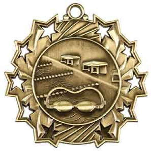 Ten Star Medal - Swimming