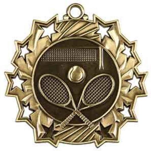 Ten Star Medal - Tennis