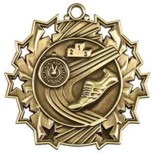 Ten Star Medal - Track