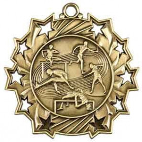Ten Star Medal - Track & Field