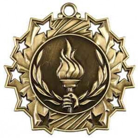 Ten Star Medal - Victory Torch