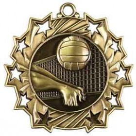 Ten Star Medal - Volleyball