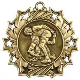 Ten Star Medal - Wrestling
