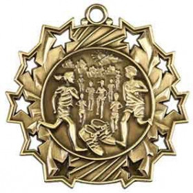 Ten Star Medal - Cross Country
