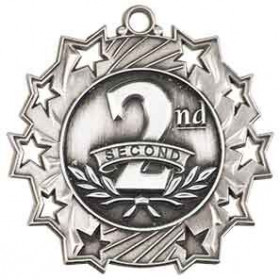 Ten Star Medal - 2nd Place