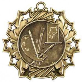 Ten Star Medal - Art