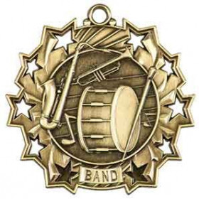 Ten Star Medal - Band