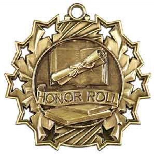 Ten Star Medal - Honor Roll