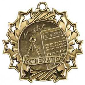 Ten Star Medal - Math