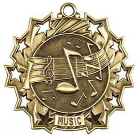 Ten Star Medal - Music