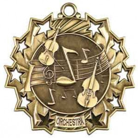 Ten Star Medal - Orchestra
