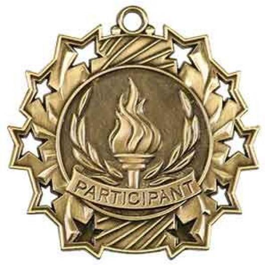 Ten Star Medal - Participant
