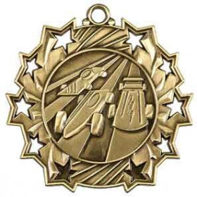 Ten Star Medal - Pinewood Derby