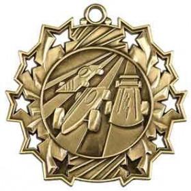 Ten Star Medal - Pinewood Derby