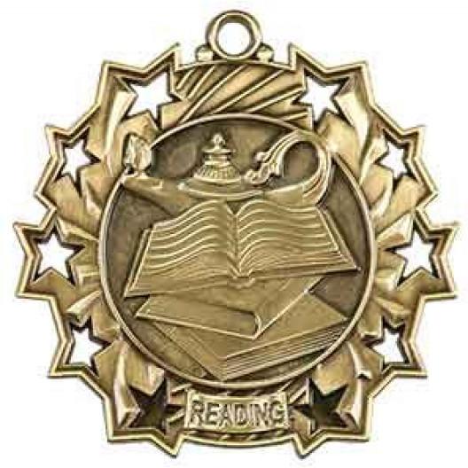 Ten Star Medal - Reading