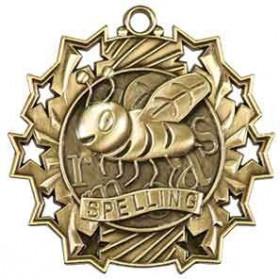 Ten Star Medal - Spelling