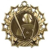 Ten Star Medal - Baseball