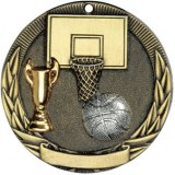 Tri-Colored Medal - Basketball